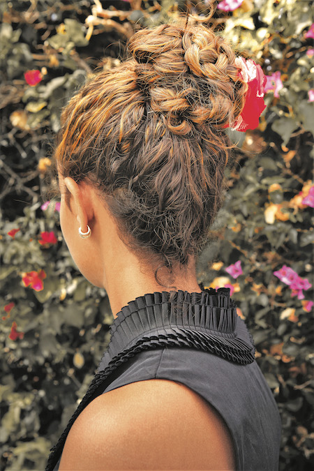 Westworld's Maeve Millay hairstyle. Photo credit: Race Point Publishing, an imprint of The Quarto Group