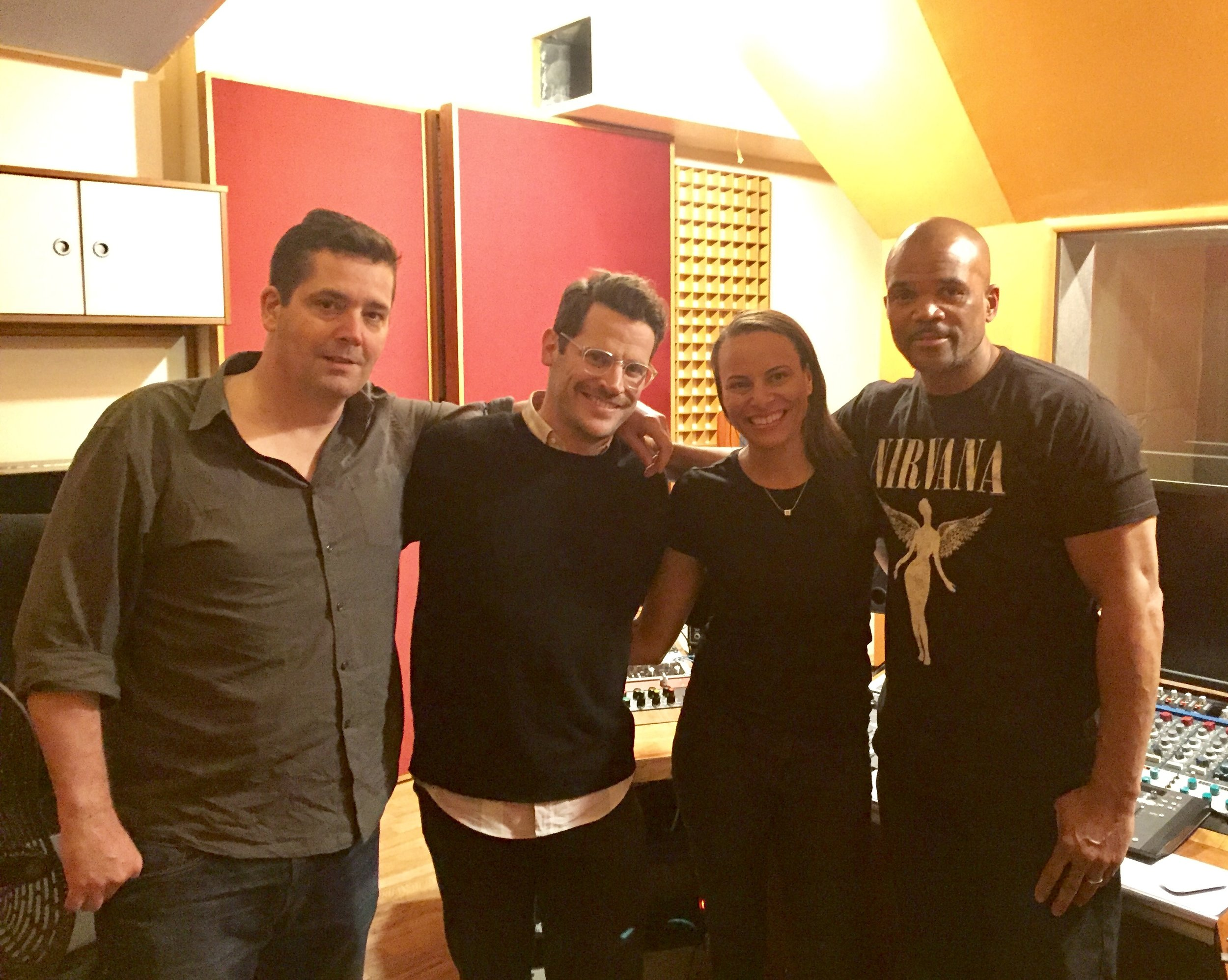 July: A Conversation w/Darryl McDaniels: Season 2, Episode 18   Post-interview in the studio with my amazing team and the one and only Darryl McDaniels, DMC of RUN DMC.