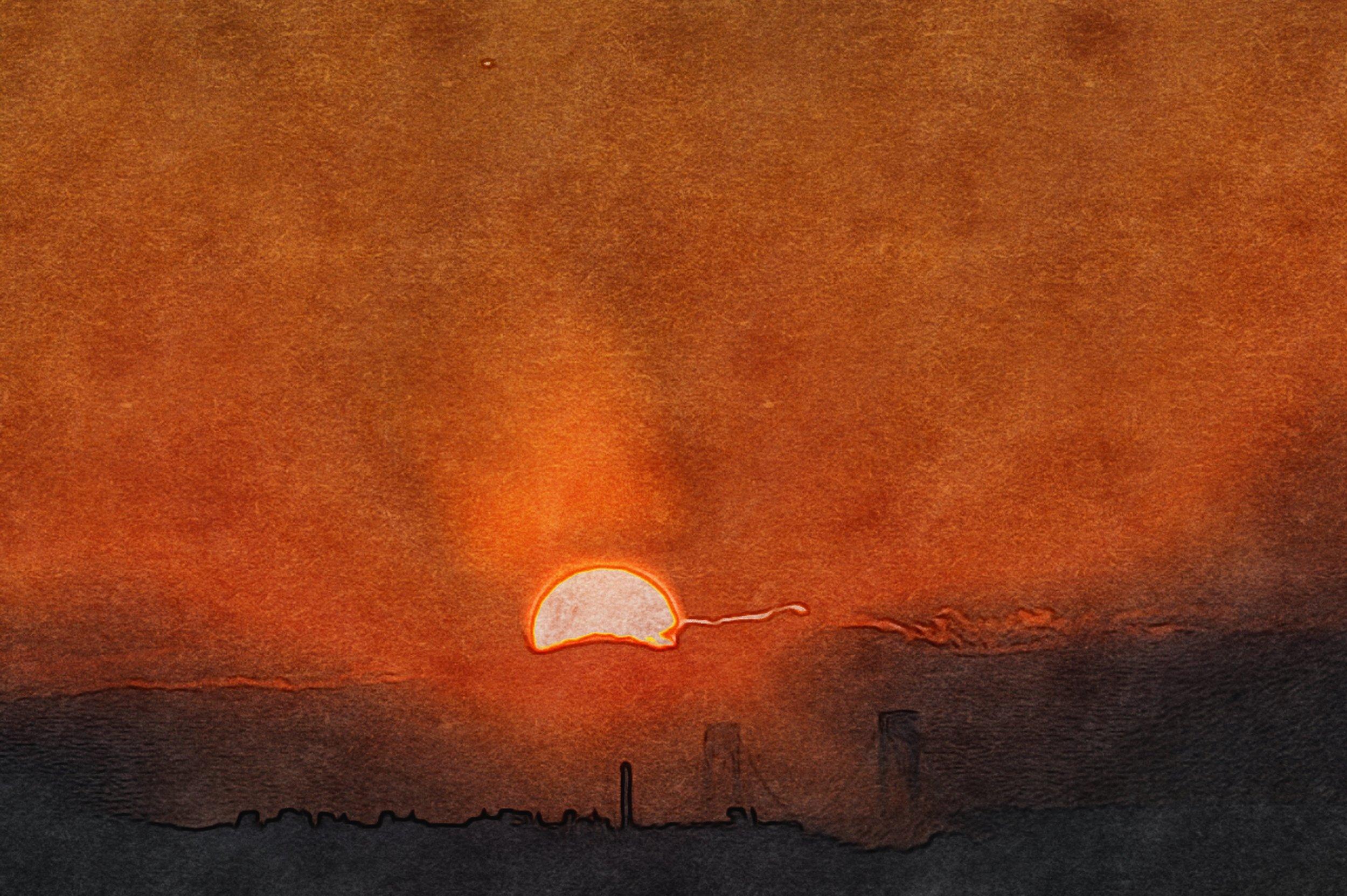 Sunset // Verrazano Bridge