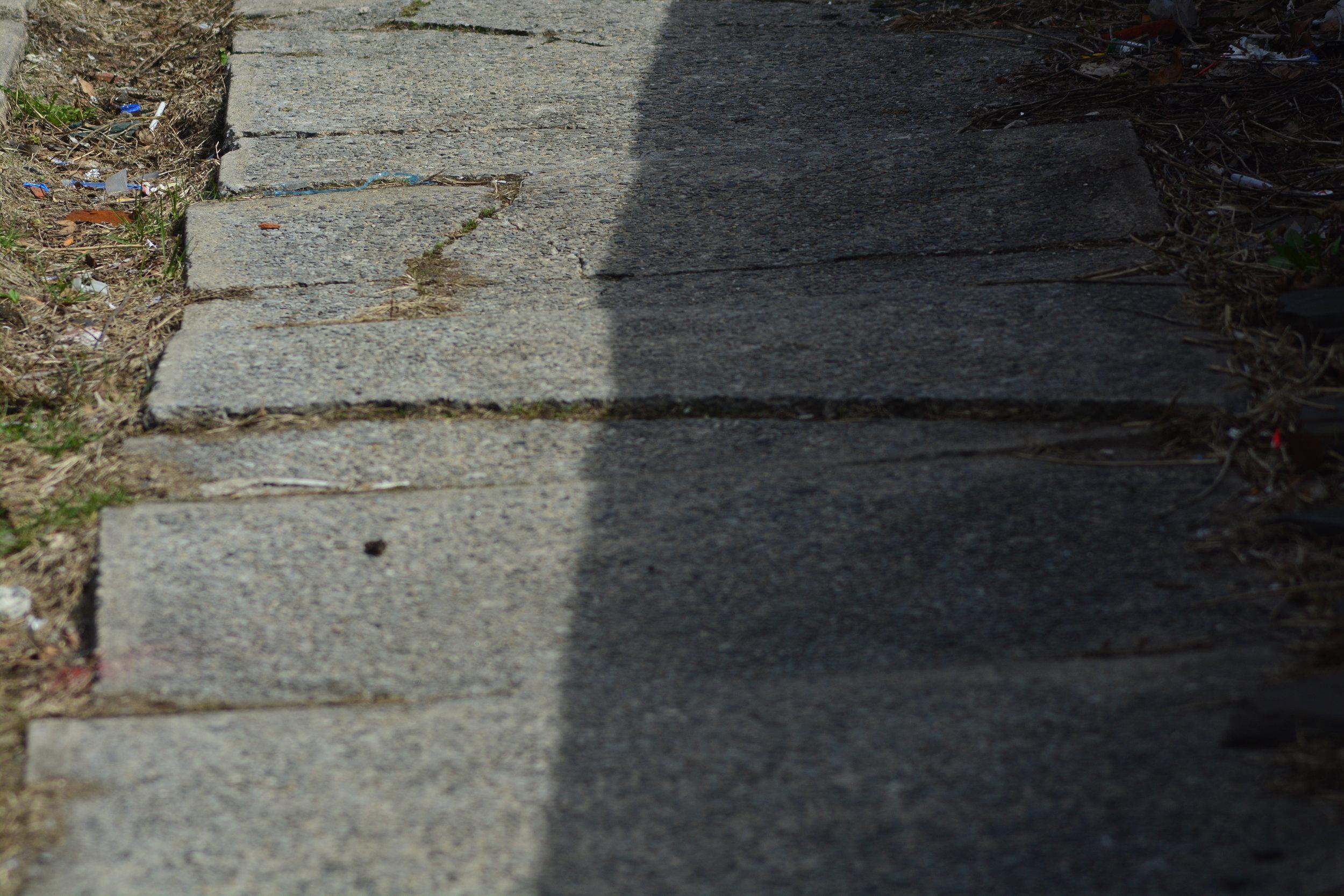 Sidewalk Not Stairs