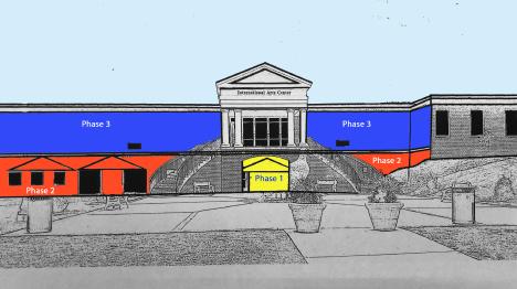 Troy University Mural Plan