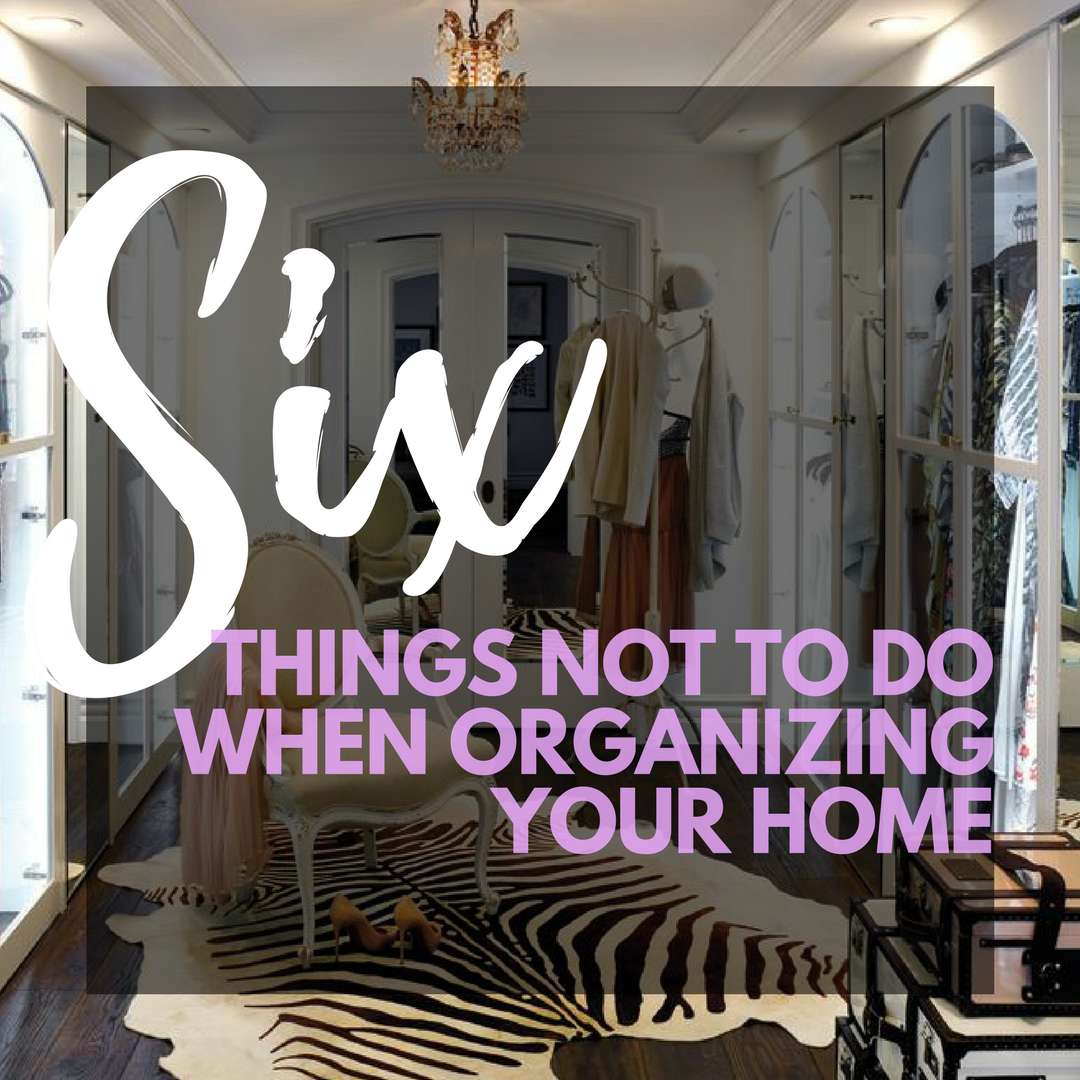 Miami Professional Organizing Tips DIY Organizing How To Organize My Home