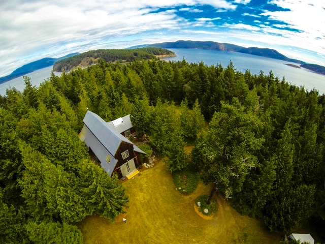 Don't Miss A Visit to The Barn on Lopez Island !  STUDIO #4   (Photo by Adam Guy)