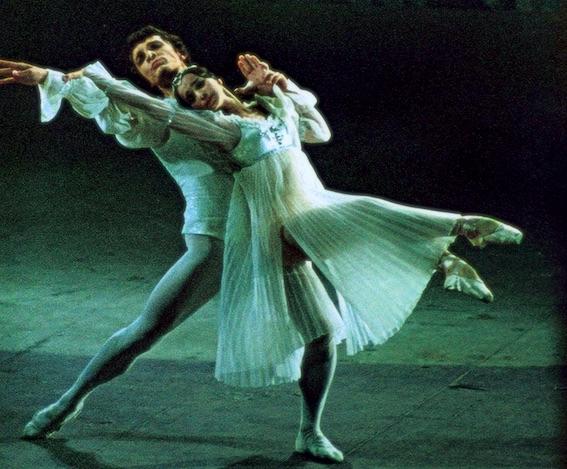 Romeo and Juliet , with Nadezhda Pavlova.