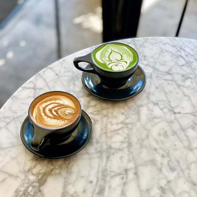 Our Monday Moooood #matchalatte #latte