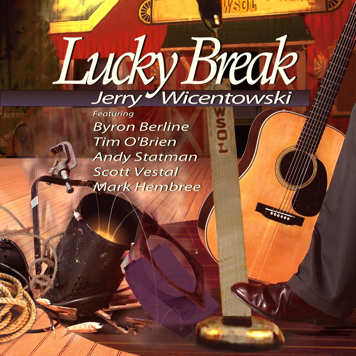 Lucky Break - album cover
