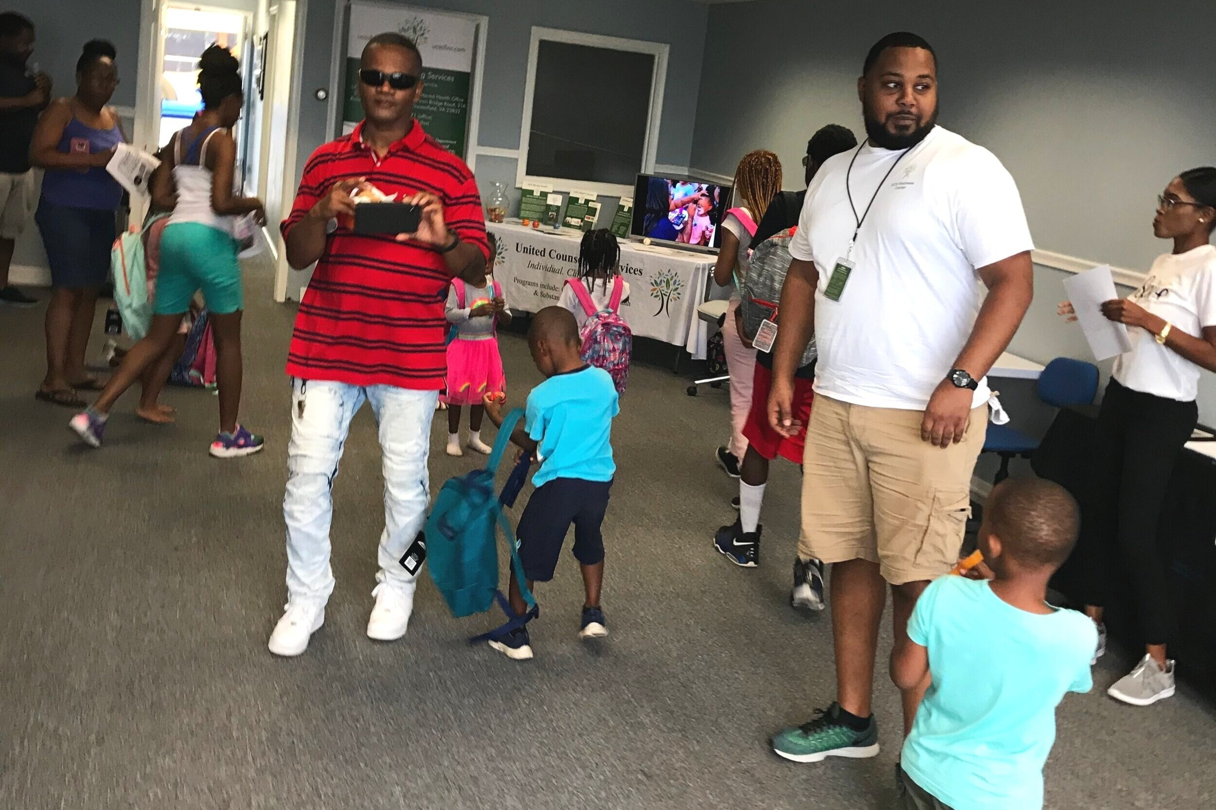 """A healthy mental state will help you leverage your Everyday Power to achieve the success you seek and live a purposeful life. - 2019 Back-to-school """"Backpack Give Away"""""""