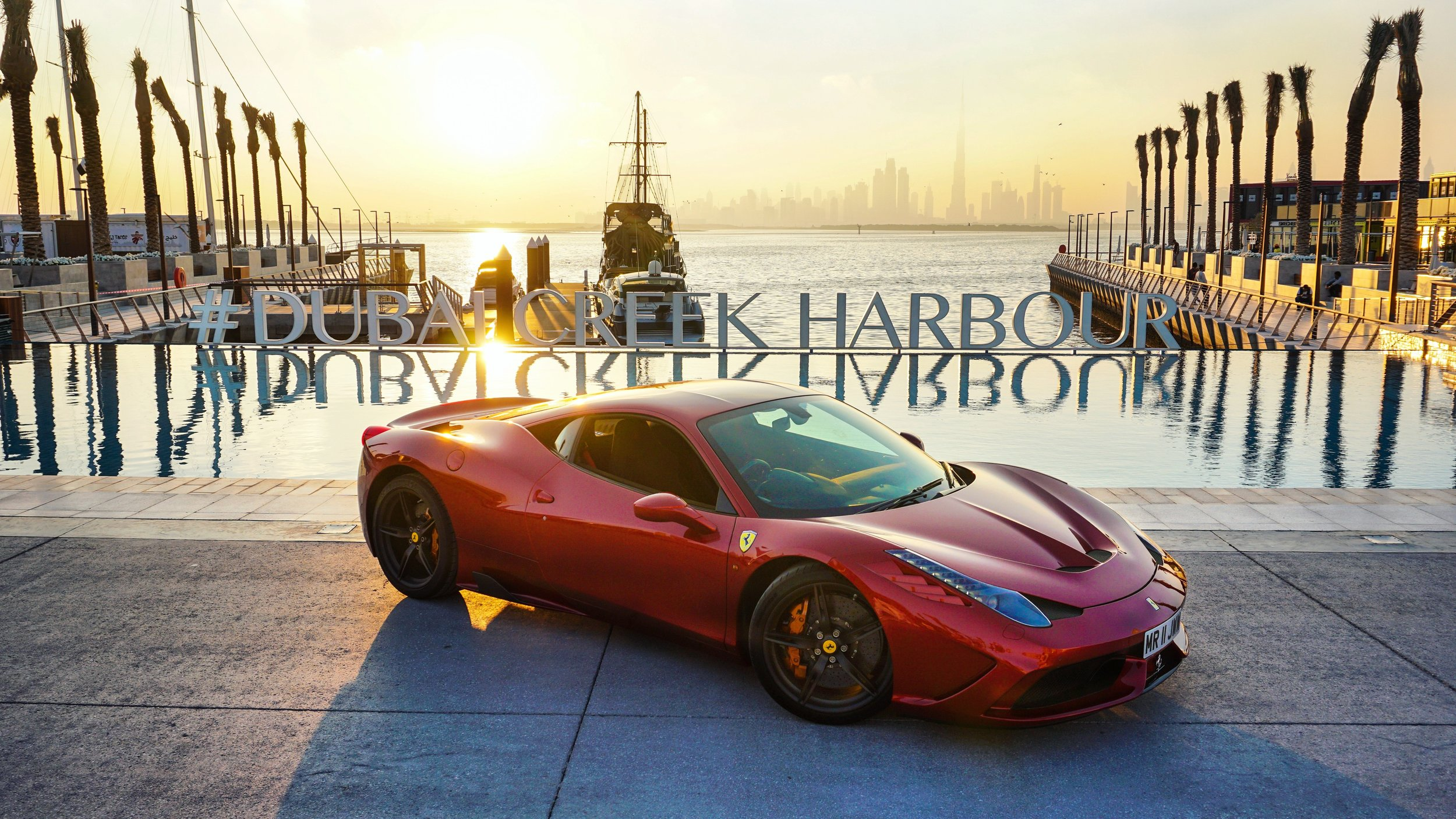 Ferrari 458 Speciale | Creek Harbour | Dubai