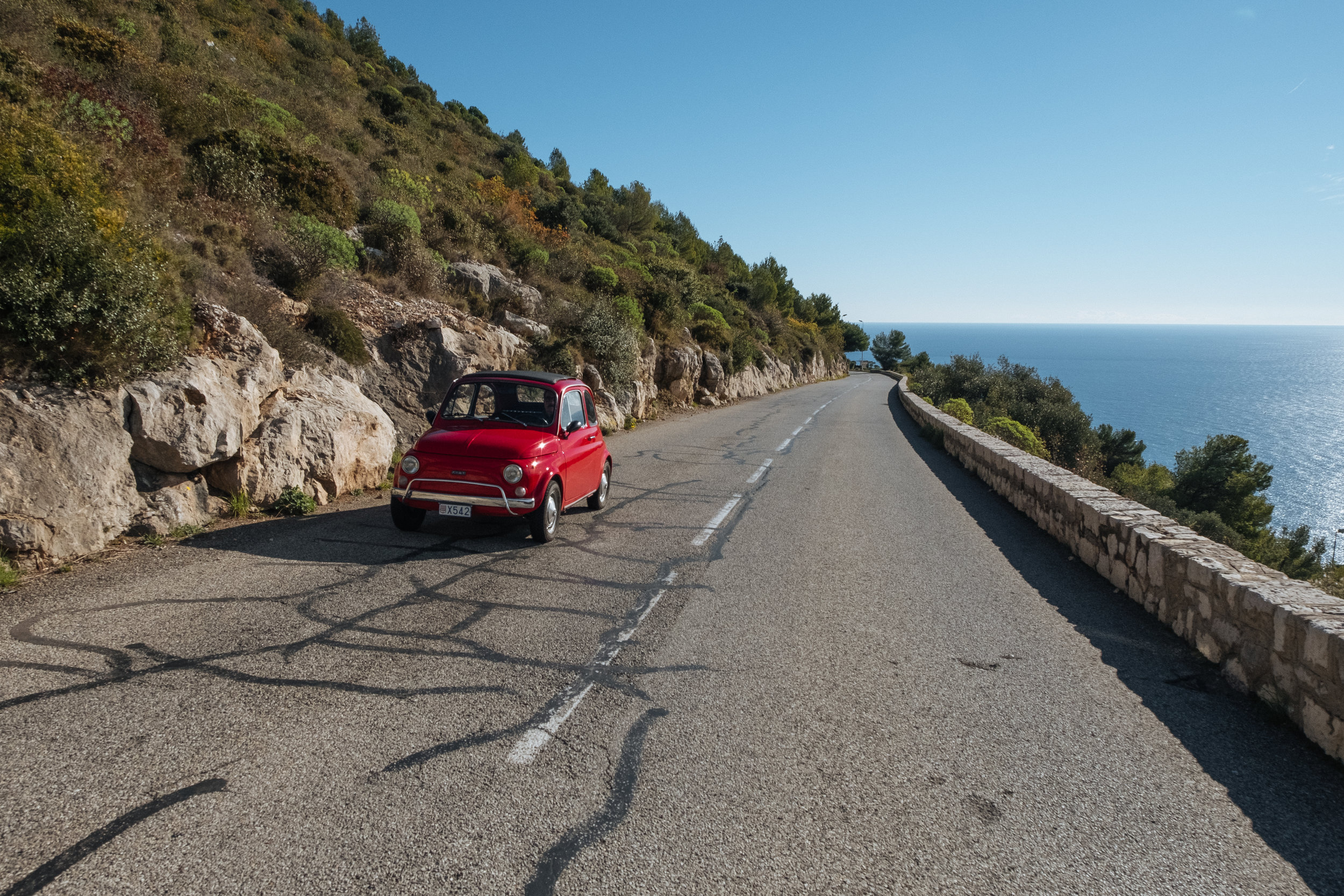 Fiat 500 | La Turbie | South Of France