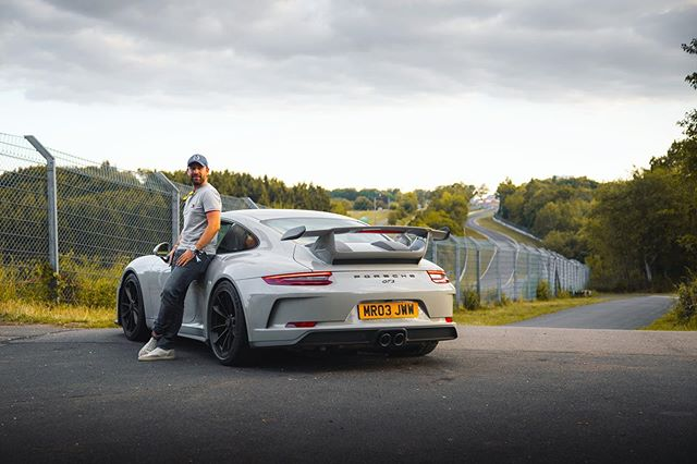 NEW VIDEO LIVE! FLAT OUT In The Manual Porsche 991 GT3 On The Nurburgring! (Finally) . YouTube.com/MrJWW . Photo @tomstamp . #MrJWW #Porsche #GT3 #Nurburgring
