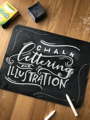 Chalk Lettering + Illustration