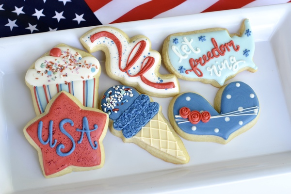 4th of July Cookie Decorating