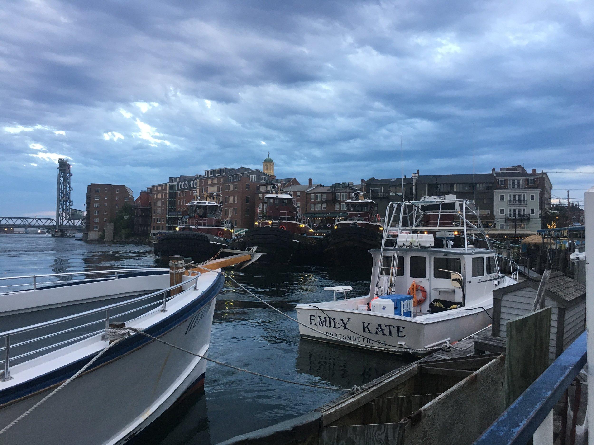 Dark skies in Portsmouth