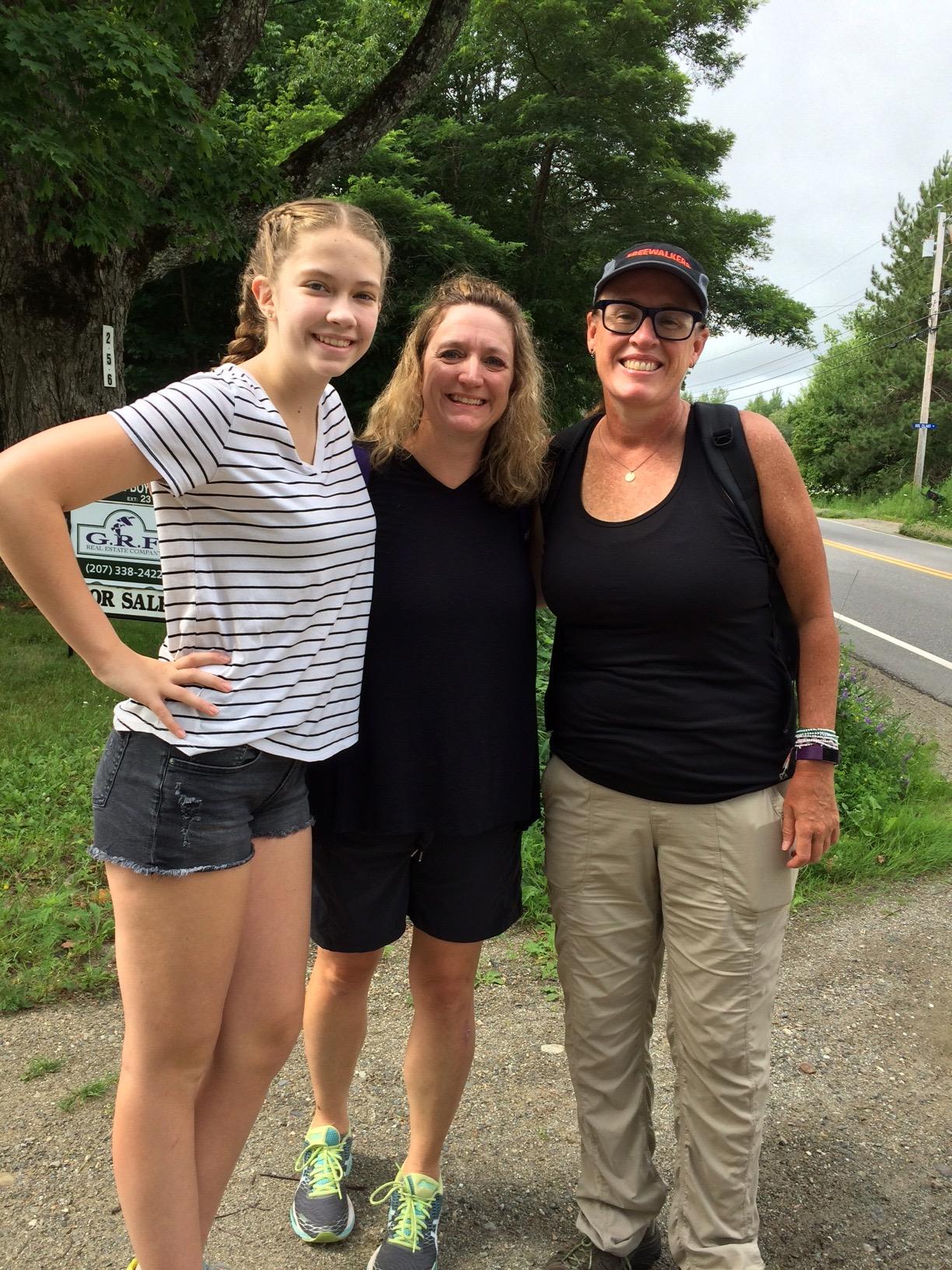 Jessica, Helene, and me