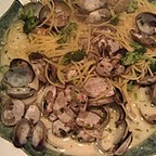 Last night I made a classic dish of linguine and clams a little bit more alkaline so it is a dinner that you can make and enjoy. Instead of white wine I used vegetable broth, I also added a few cups of broccoli. Serve this with a tossed green salad and you have a perfect 80% 20% alkaline meal. Here is the recipe.   Serves 2 for dinner or 4 for a first course.   ½ lb. quinoa or splet pasta   2 lbs. small clams (clams are very low acid)   2 cups choppedbroccoli   ¼ cupclarifiedbutter (ghee)   ¾ cup vegetable broth   1/3 cup chopped parsley   1 clove of garlic, minced   ½ tsp. sea salt   Bring a large pot of salted water to a boil.   Meanwhile, put the clams into a medium sized pot. Add the broth, butter, parsley and garlic. Set aside.   When the water comes to a boil, add thebroccoli and cook for 2 minutes. Using a slotted spoon remove the broccoli from the pan and transfer to a plate.Cook the pasta according to the package instructions. About 7-8 minutes. Put the clams on the heat with a medium high flame. They will take about the same time as the pasta. When the pasta is done, reserve ½ cup of the water. Drain the pasta and put it back in the pan. Add the broccoli the clams, and ½ cup of the reserved pasta water. Stir and serve.   Note: If you like a little heat, you can sprinkle on some red bell pepper flakes.