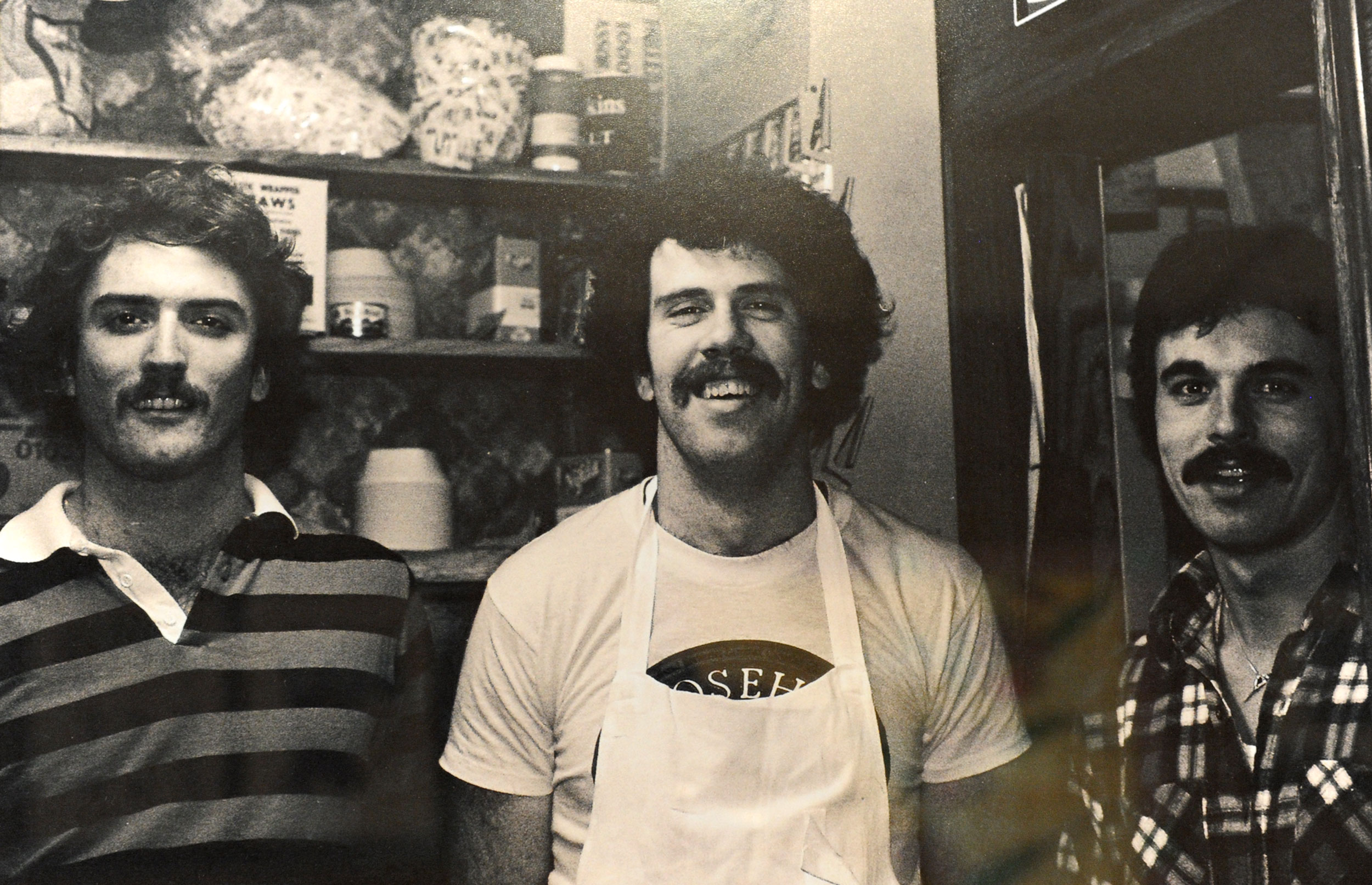 Keith Griswold (General Manager), Bob Rotanz (Owner), Joe Dishaw (Owner) 1980
