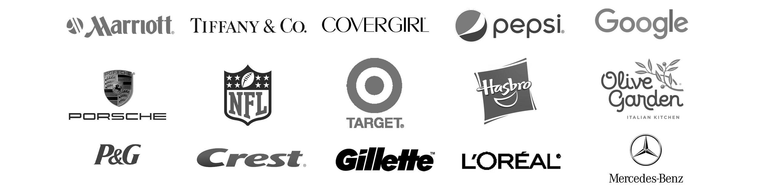 brands we've helped.