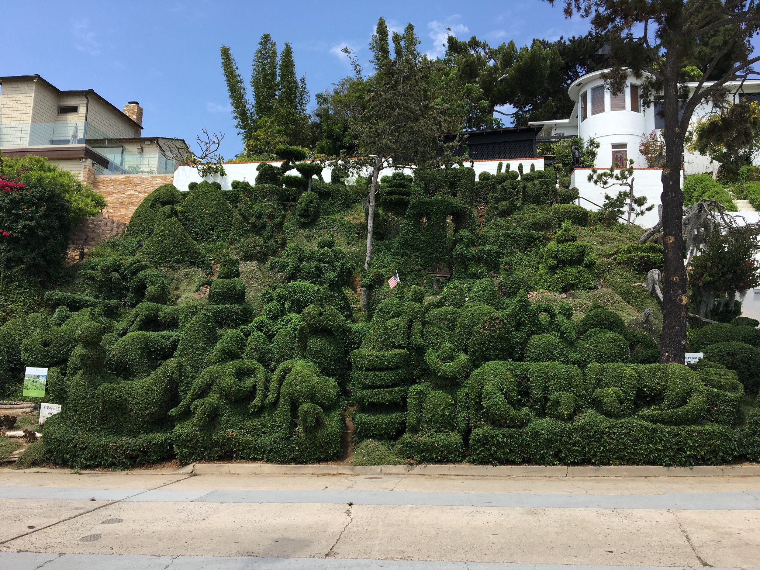 Harper's Topiary Garden in Mission Hills. Photo by Ranger Holly.
