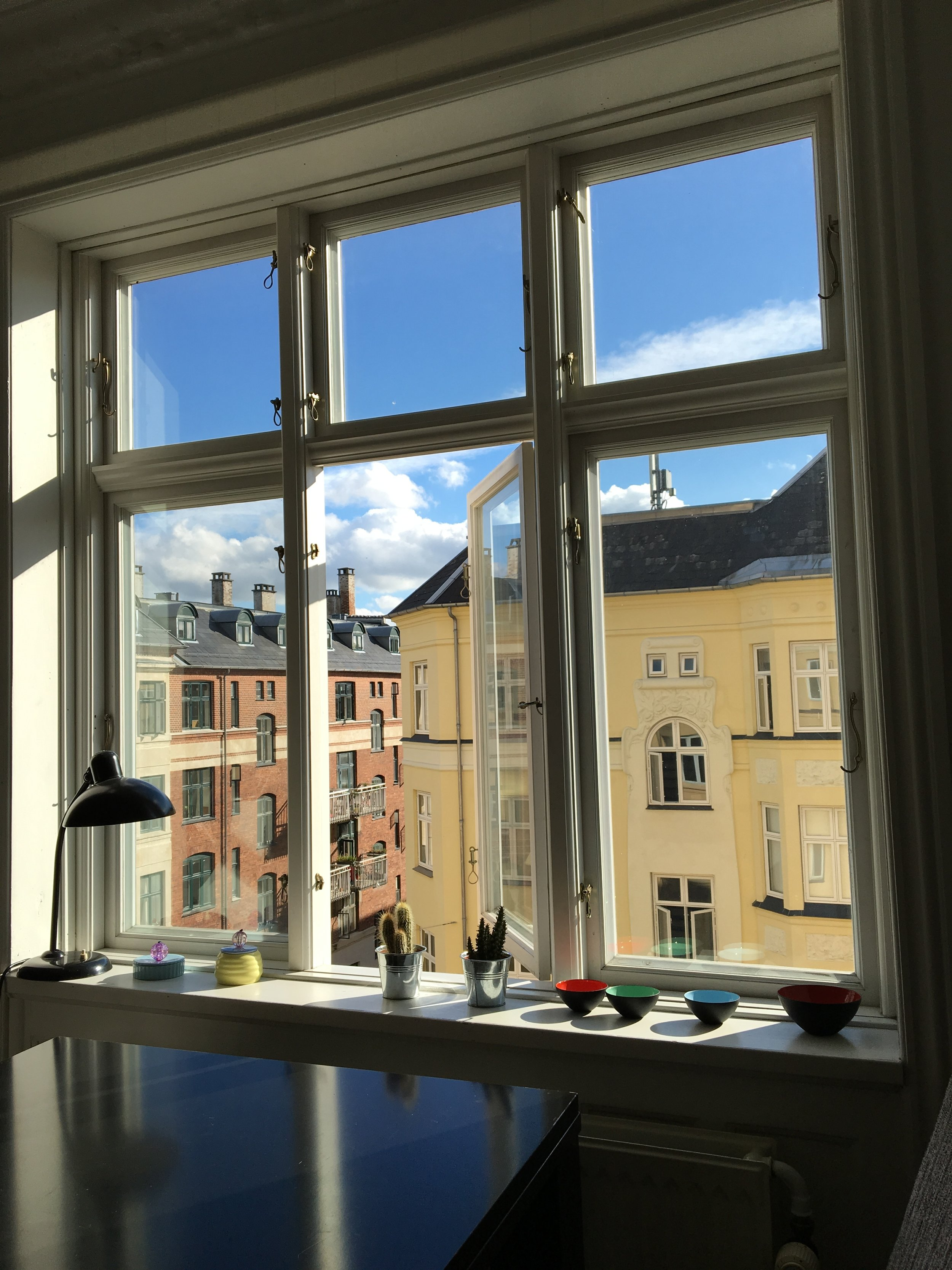 The view from my Airbnb in Copenhagen, Denmark, in August 2016. Photo by Ranger Holly.