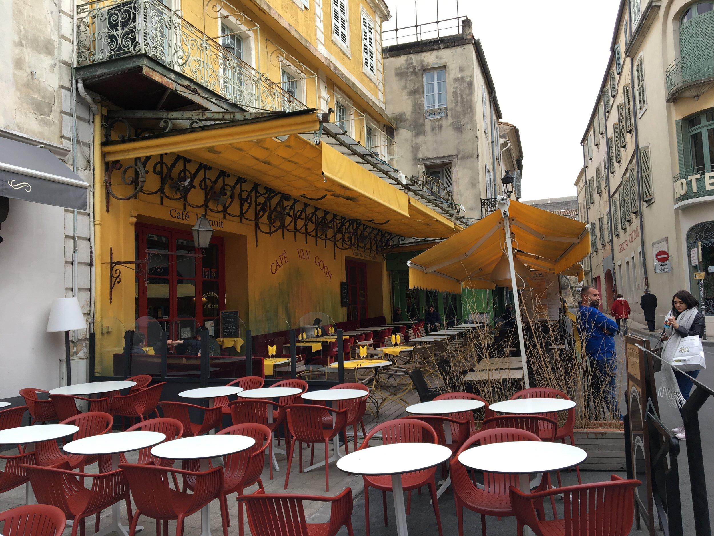 Cafe Van Gogh. Photo by Ranger Holly.