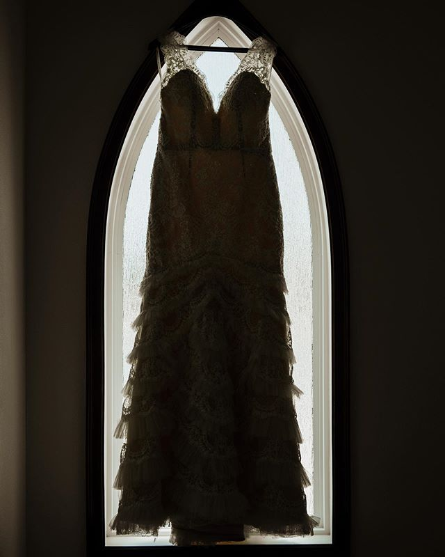 Dresses in pointed archways, more please.