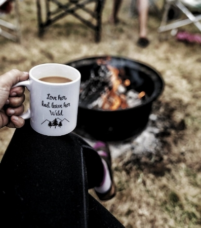 Love her but leave her wild coffee mug by Adventuring of a Small Town Girl