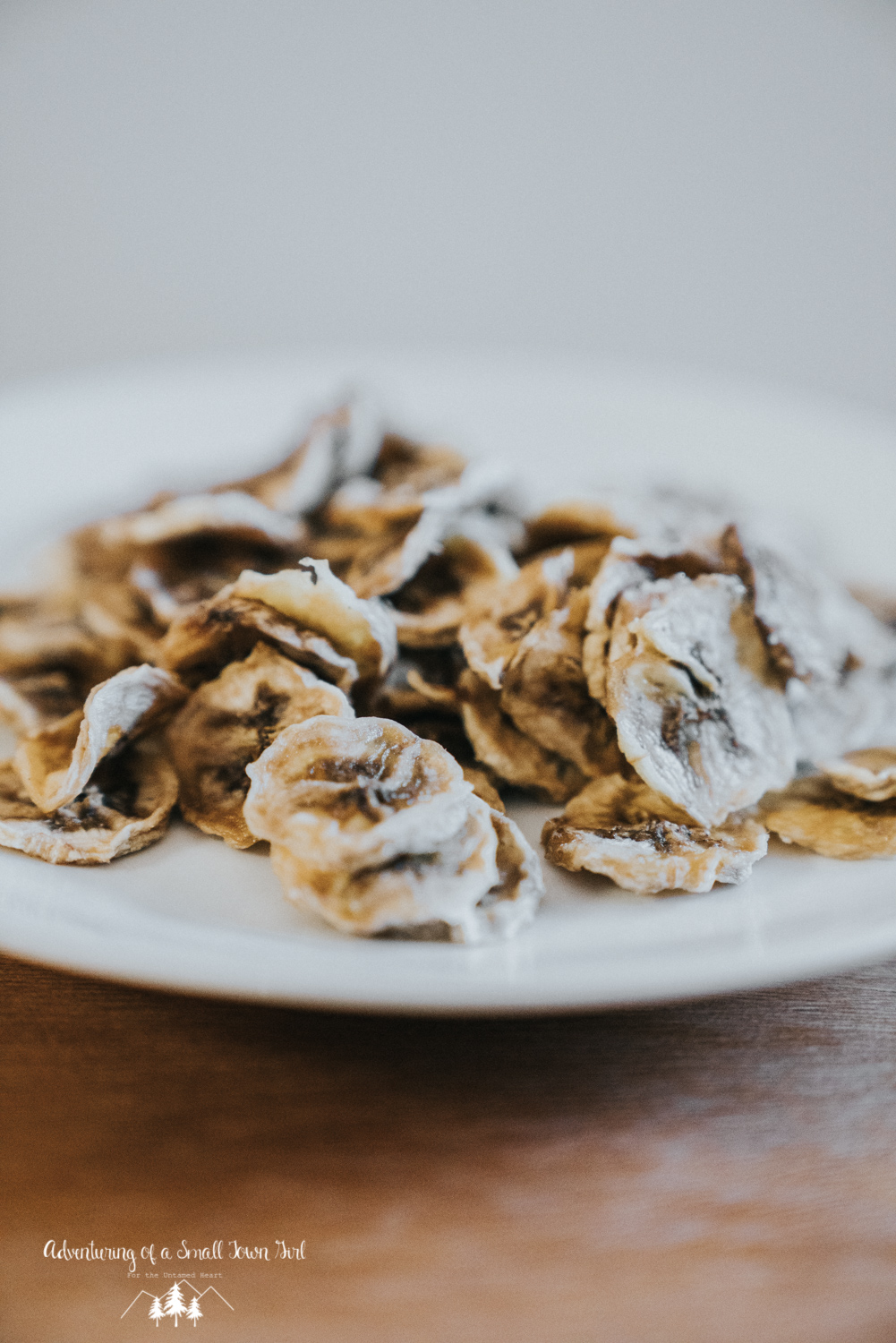 Dehydrated Banana Chips Recipe by Adventuring of a Small Town Girl - Backpacking Recipes - Dehydrator Recipes - Recipes for adventures by ASTG
