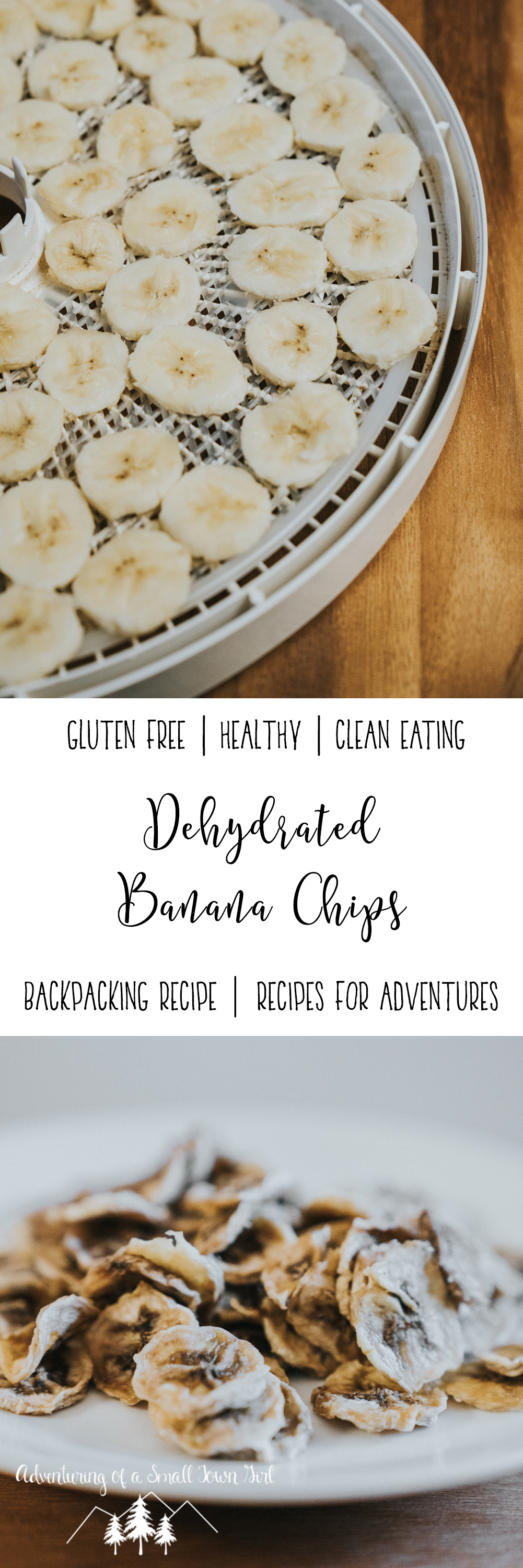 Dehydrated Banana Chips Recipe by Adventuring of a Small Town Girl - Recipes for Backpacking - Recipes for Adventures - Recipes for the trail