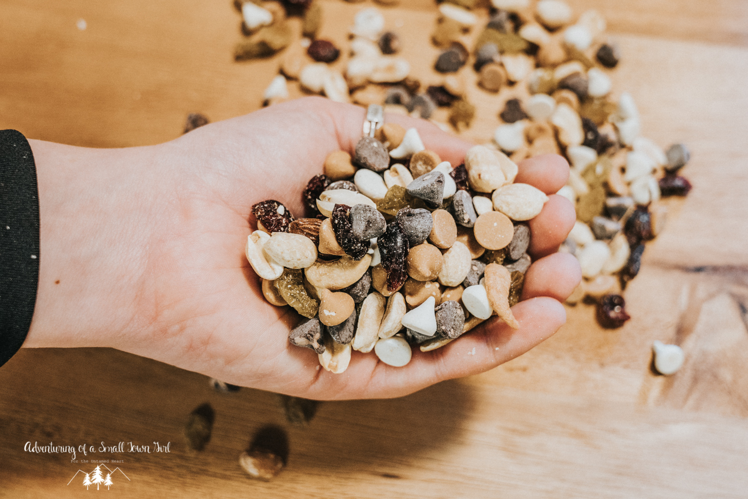 Homemade Trail Mix Recipe by Adventuring of a Small Town Girl (ASTG) - No Bake Raw Vegan Trail Mix - Make your own trail mix-29.jpg