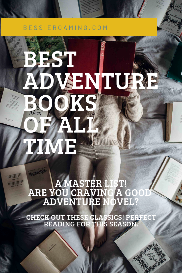 Best Adventure Books of All Time - A master LIST! Are you craving a good adventure novel? If so you foind the right place. This is a master ongoing list of classic adventure novels