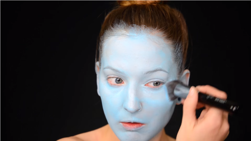 fluffy brush with baby blue face paint.png