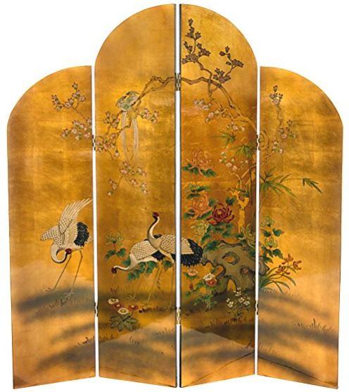 2 oriental furniture cranes.JPG
