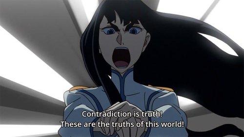 Satsuki Kiryuuin anime quotes