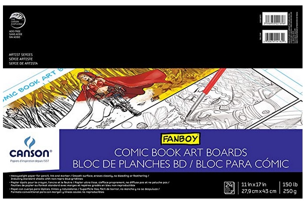 canson-comic-art-boards-pad-paper