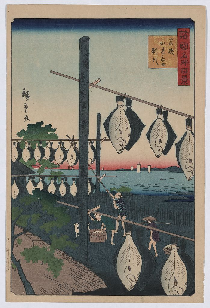 Wakasa karei o seisu - Utagawa, Hiroshige  photo credit: Library of Congress