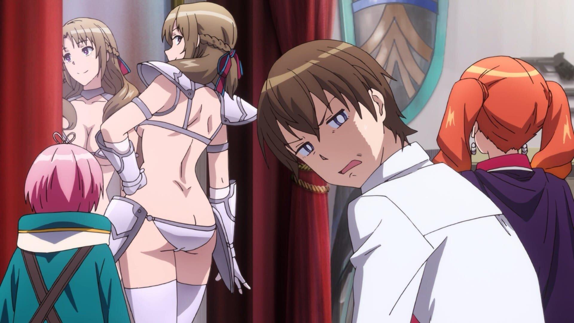 Forced vibrator anime