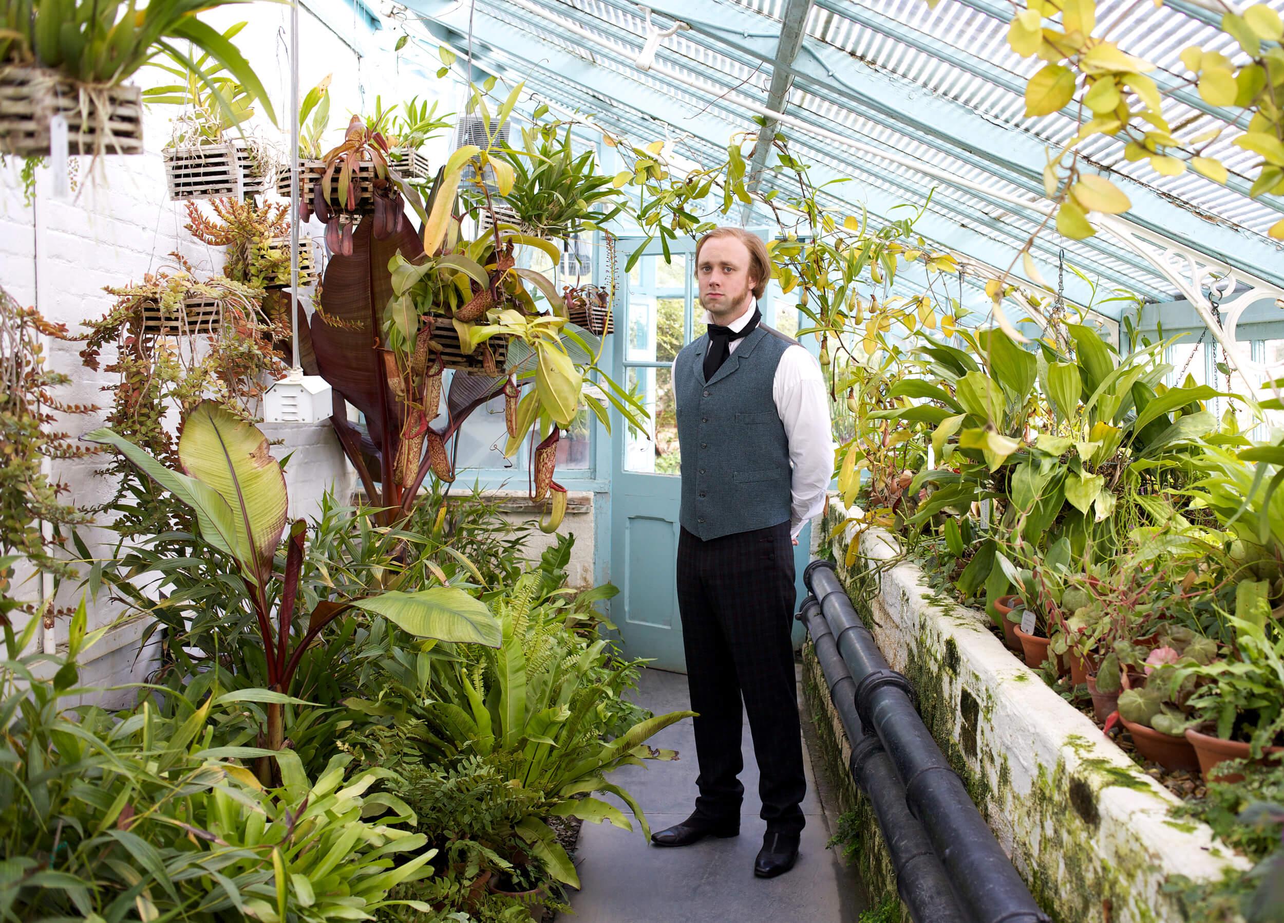 Darwin's greenhouse