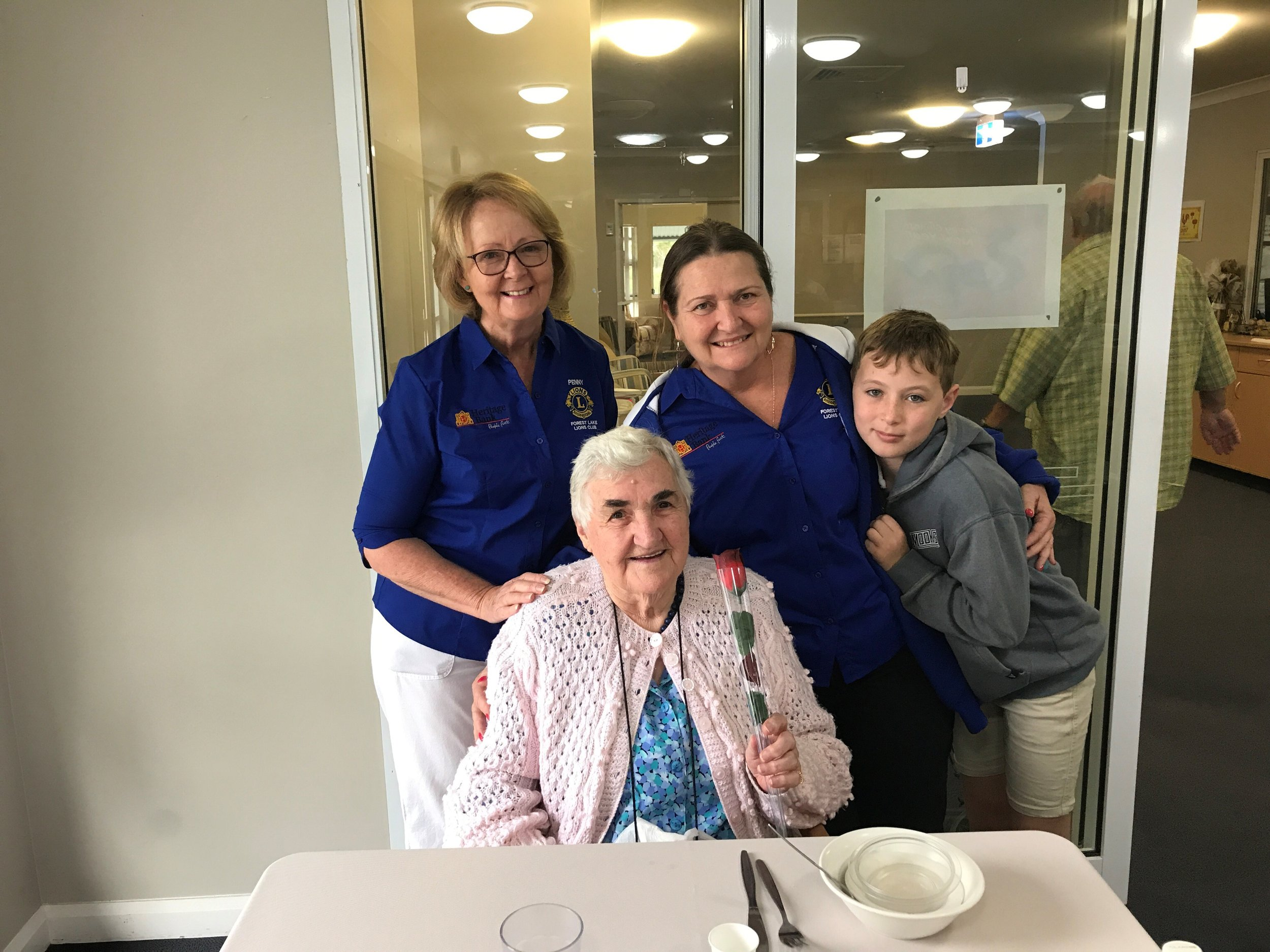 Being Friendly Faces at The Lodge Nursing Home