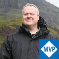 Nick carries his MVP badge everywhere with him, even when he's climbing mountains.