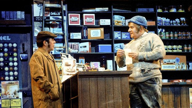 """Four candles or fork handles?"" The Two Ronnies illustrate the futility of traditional procurement. Watch  Four Candles on YouTube ."
