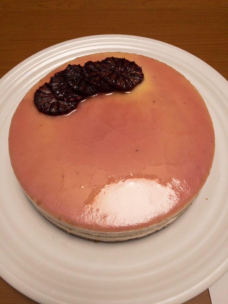 Katherine Marshall - Blood Orange Cheesecake