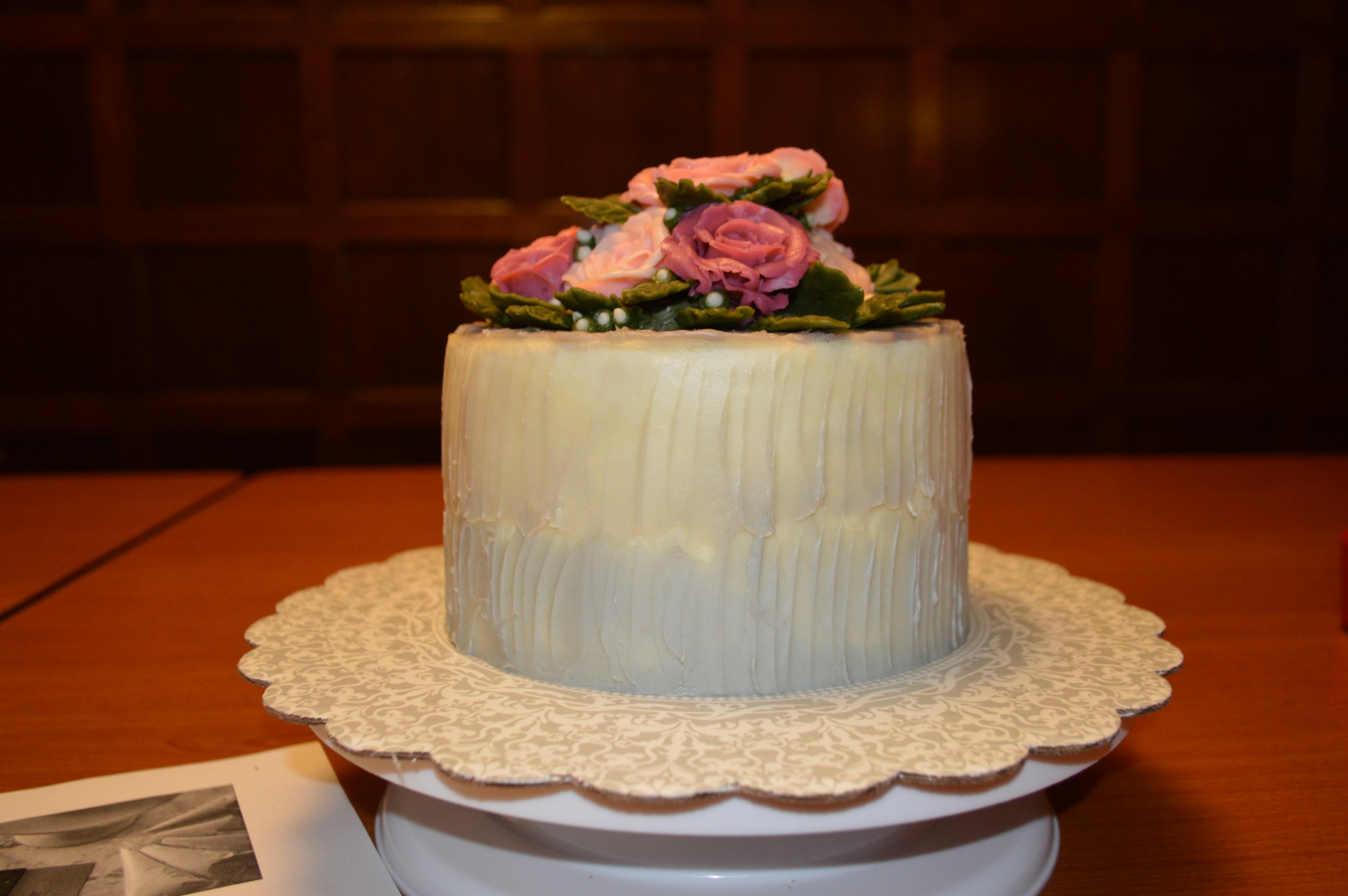 1st Place - Trang Nguyen, CCAC Culinary - Chocolate Carrot Cake with Italian Buttercream