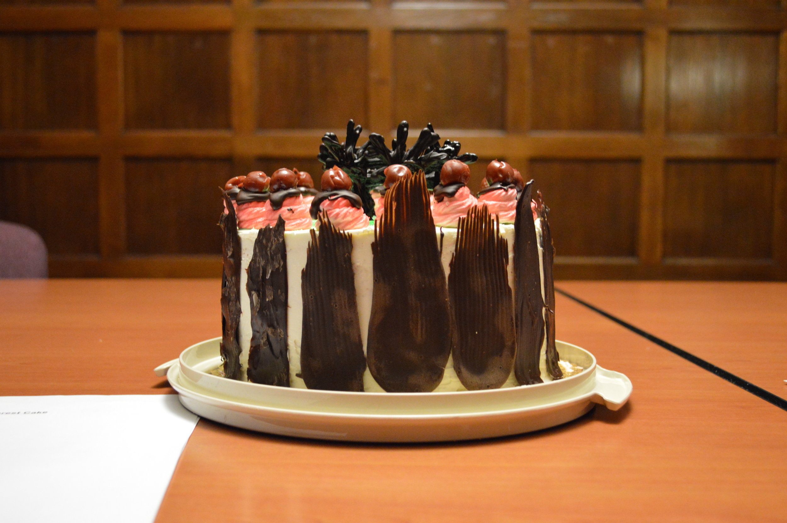 3rd Place - Richard Grabowski, Bidwell Training Center - Black Forest Cake