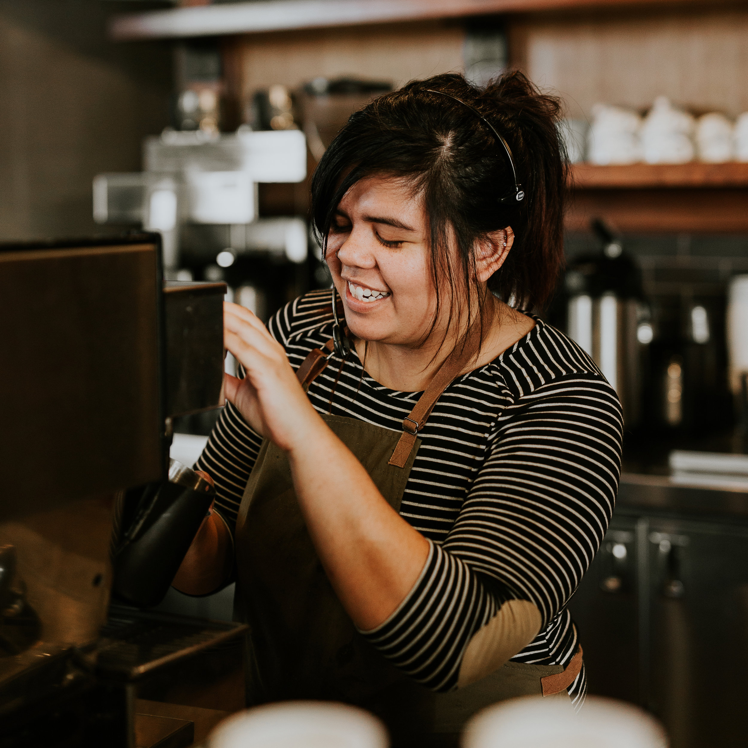 The People - We couldn't do what we do without our amazing staff. We are passionate about people who care about coffee and are eager to learn the in's and out's of the coffee world.