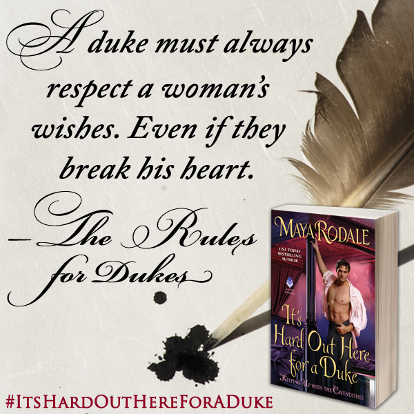 Sharing Quote Images for  It's Hard Out Here  for a Duke by Maya Rodale