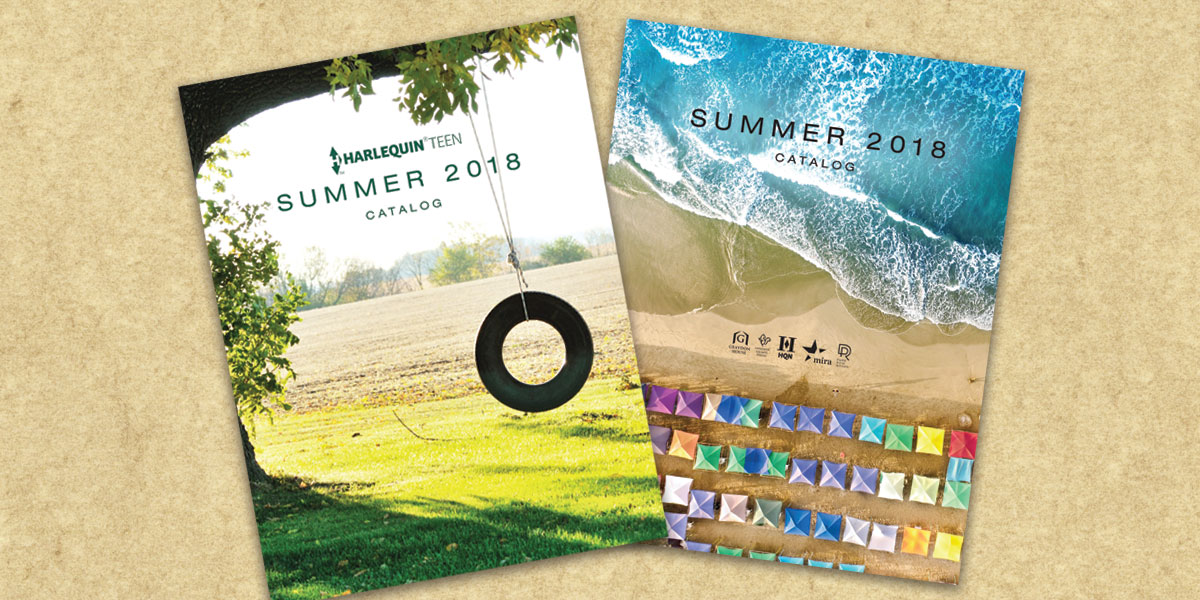 Catalog Covers for Harlequin Summer 2018