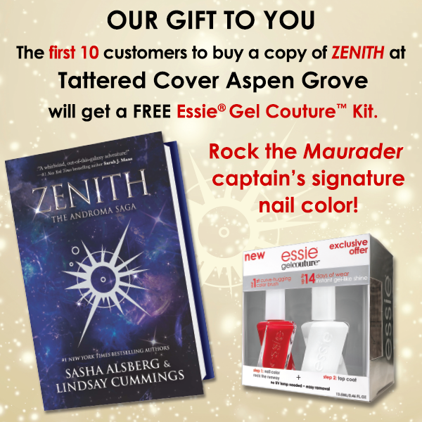 Zenith  promo (included signage and video) for special release giveaway for Harlequin Teen.