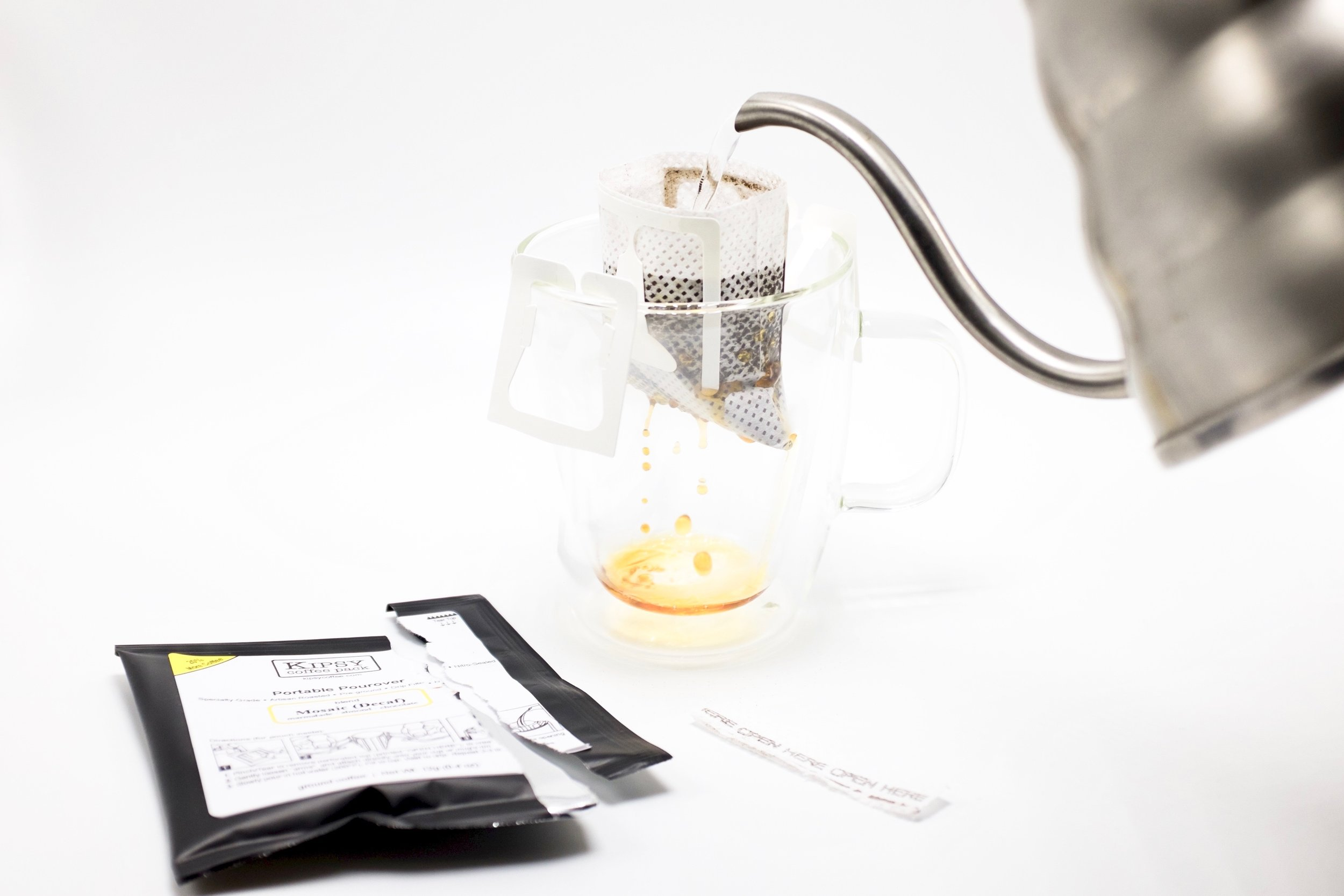 Portable Pourover Coffeein a Pack - Artisan Coffee Simplified