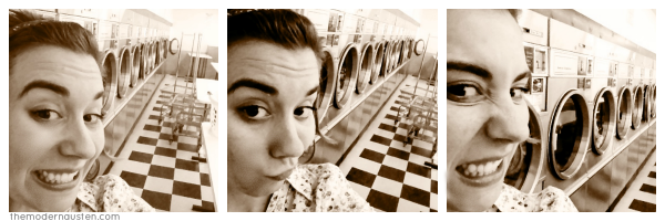 Laundromat Selfies