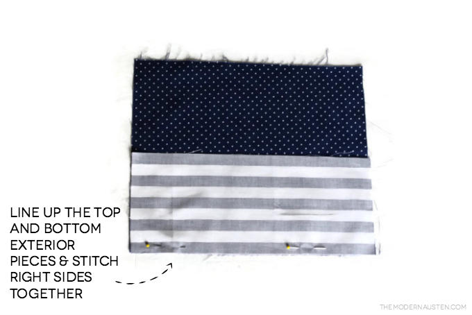 Create a fun clutch with under a yard of fabric